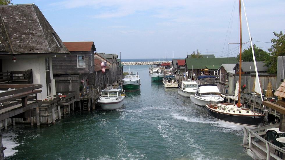 Historic Fishtown - Leland, Michigan