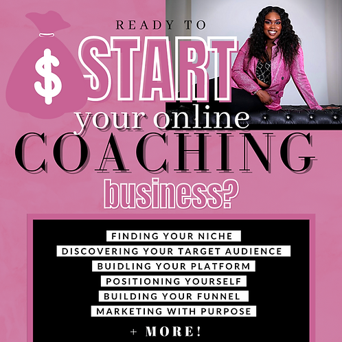 Start A Coaching Brand