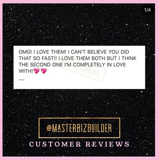 #CustomerReviews . . Absolutely love all