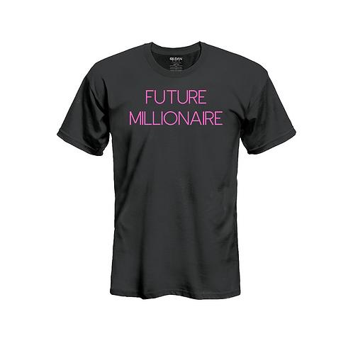 Future Millionaire Tee Pink