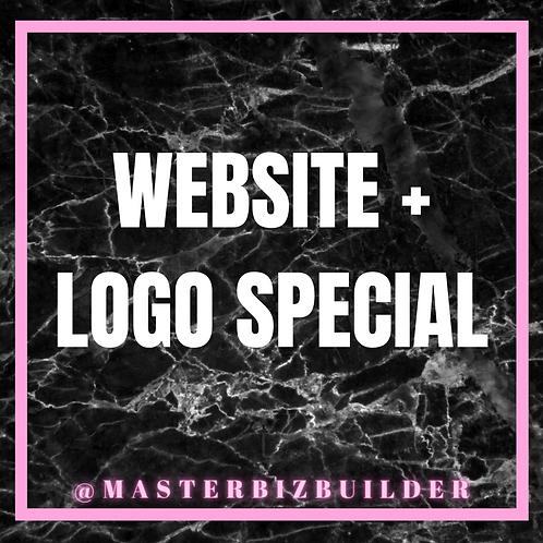 Website + Logo Special
