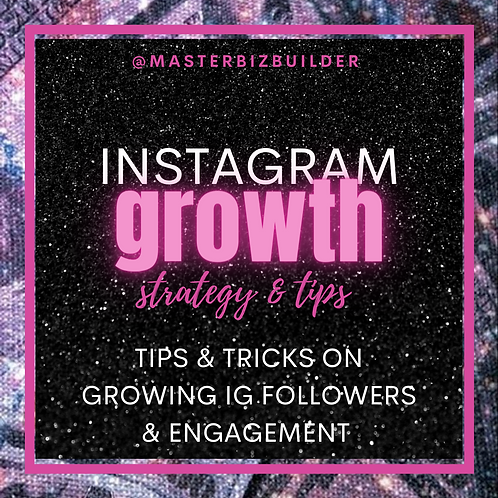 Instagram Growth Course
