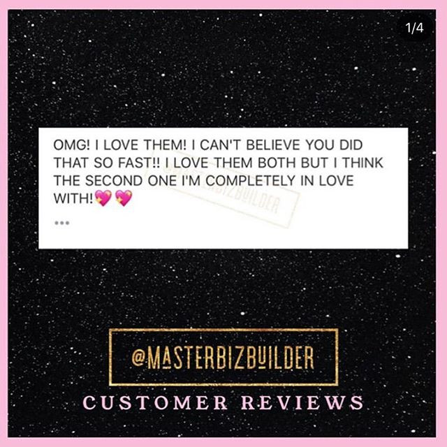 #CustomerReviews 💗 . . I love & appreci