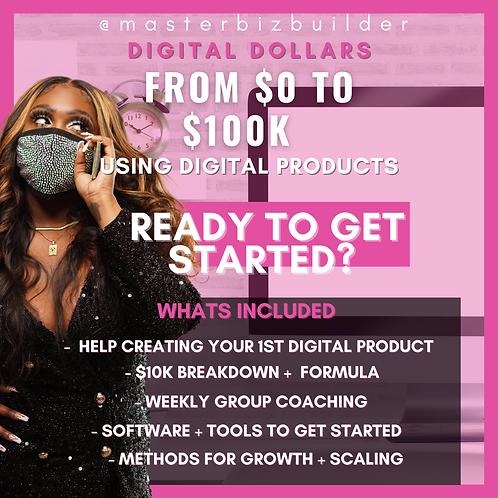 Digital Dollars - Creating Your Digital Product