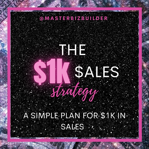 The $1k Sales Strategy