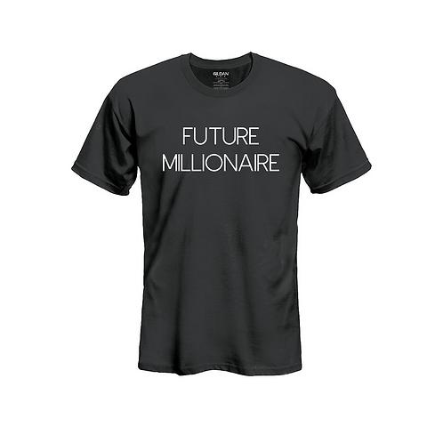 Future Millionaire Tee White