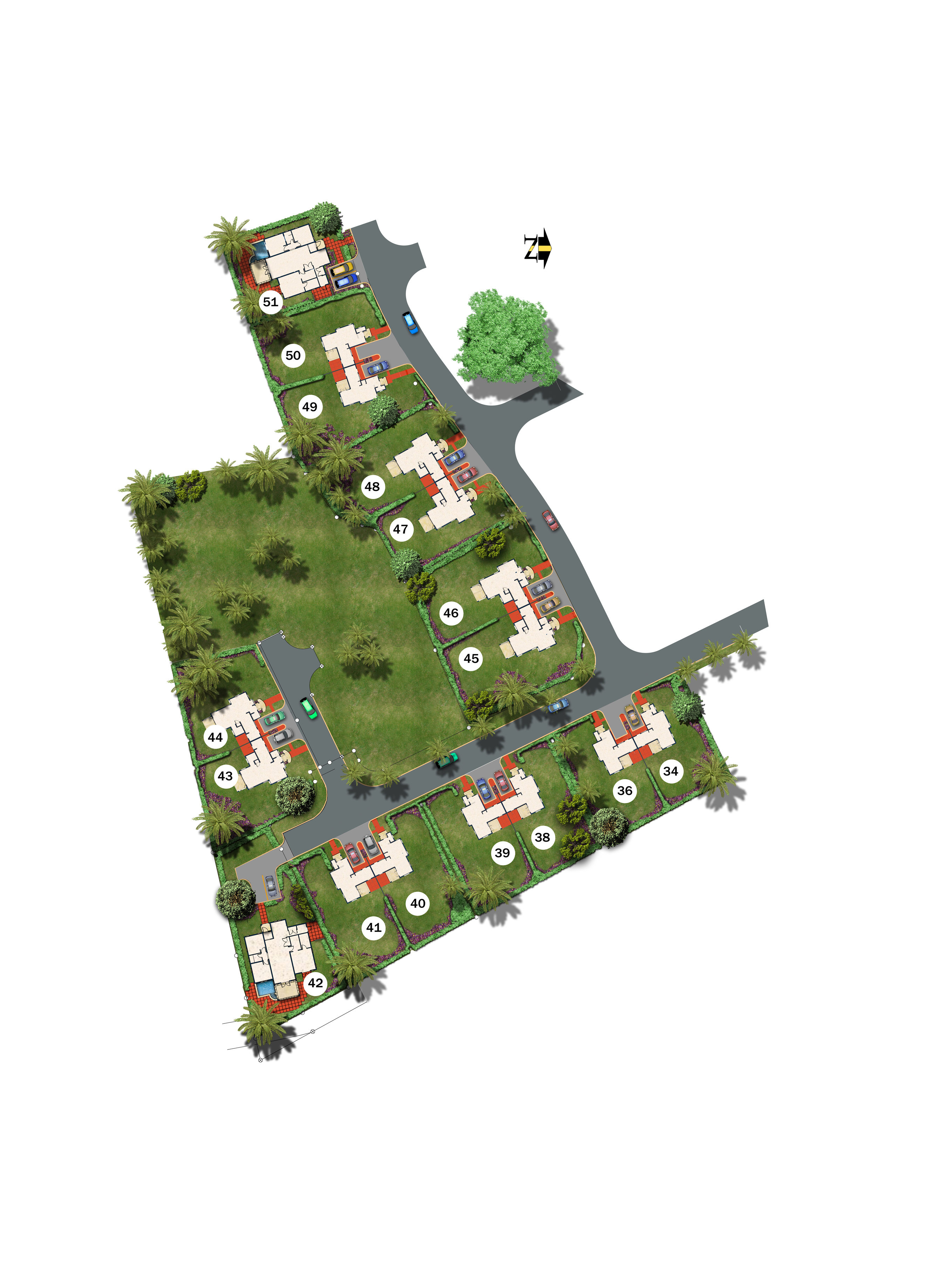 Emerald Living | Welches Site Plan