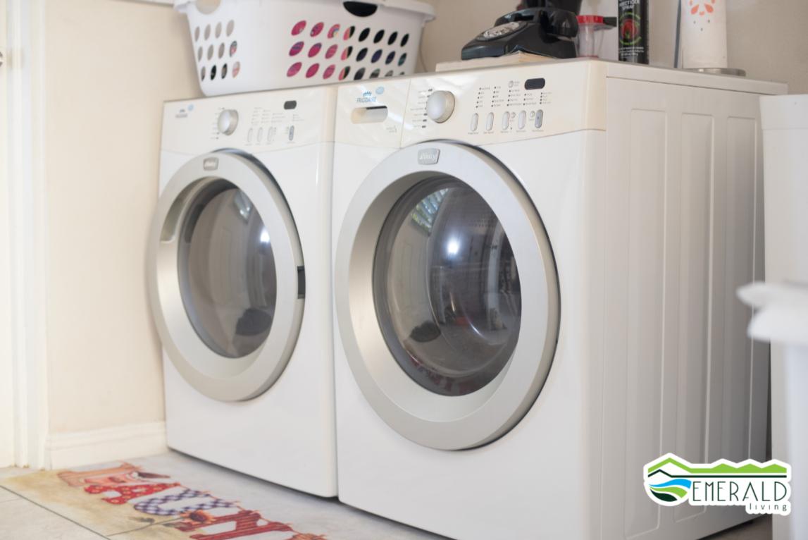 EMERALD LIVING | Laundry