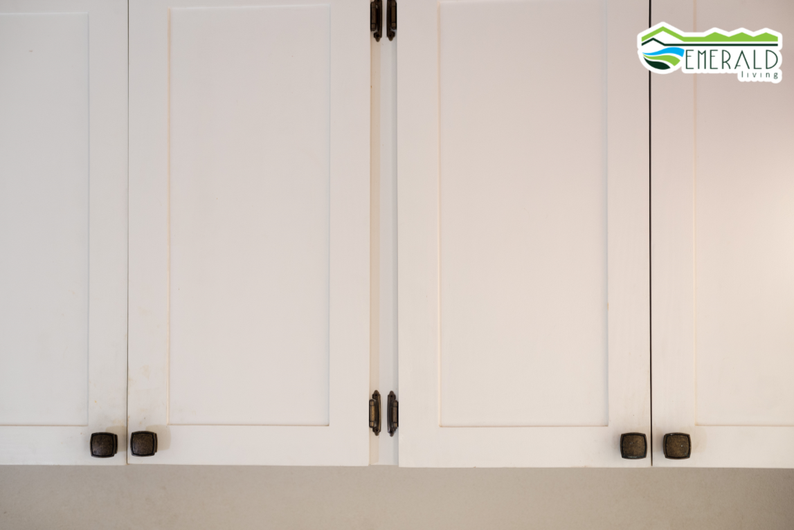 EMERALD LIVING | Laundry cabinets