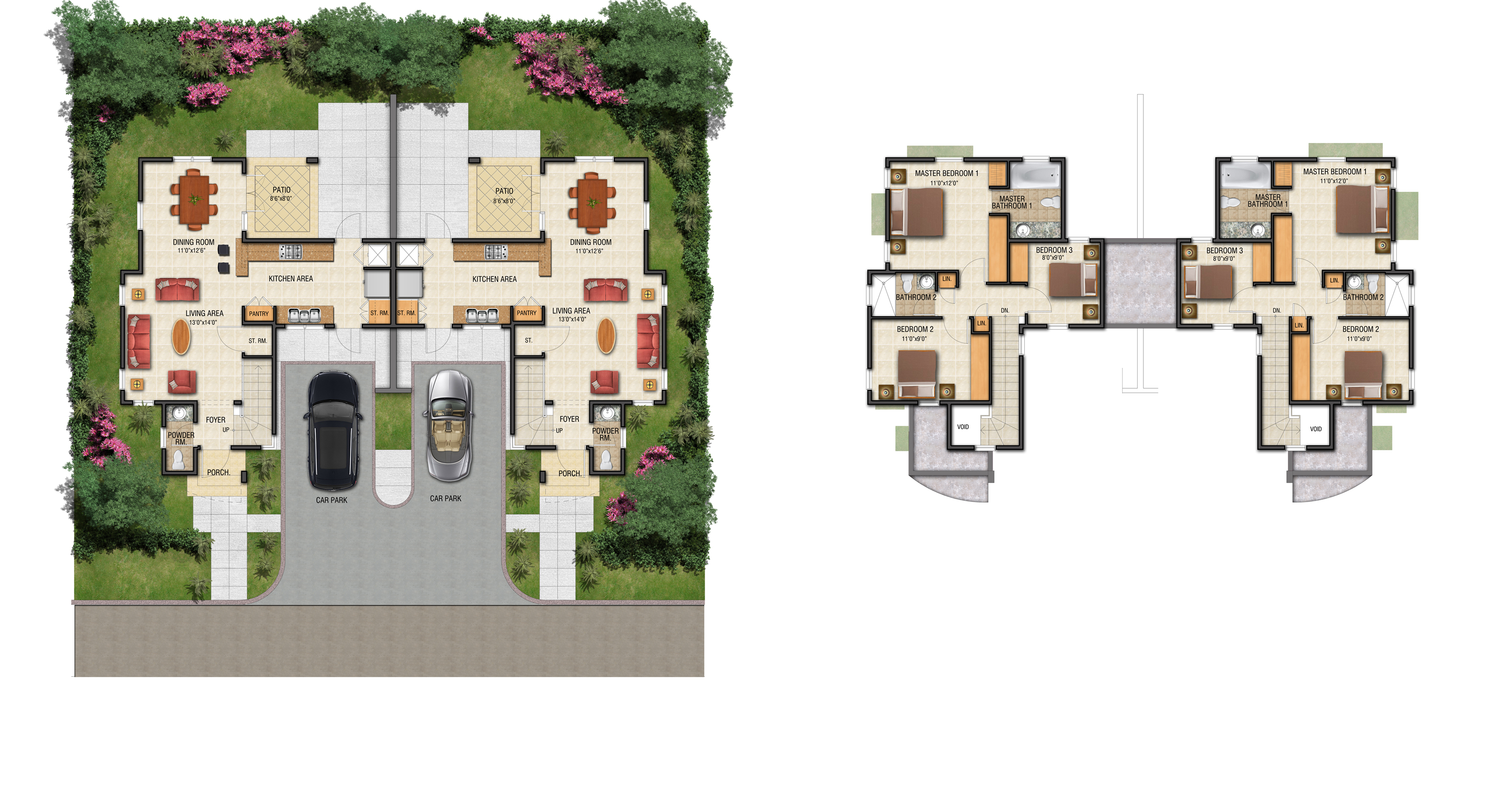 Peace Lily Floor Plan