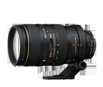 AF 80-400mm F4.5-5.6D VR