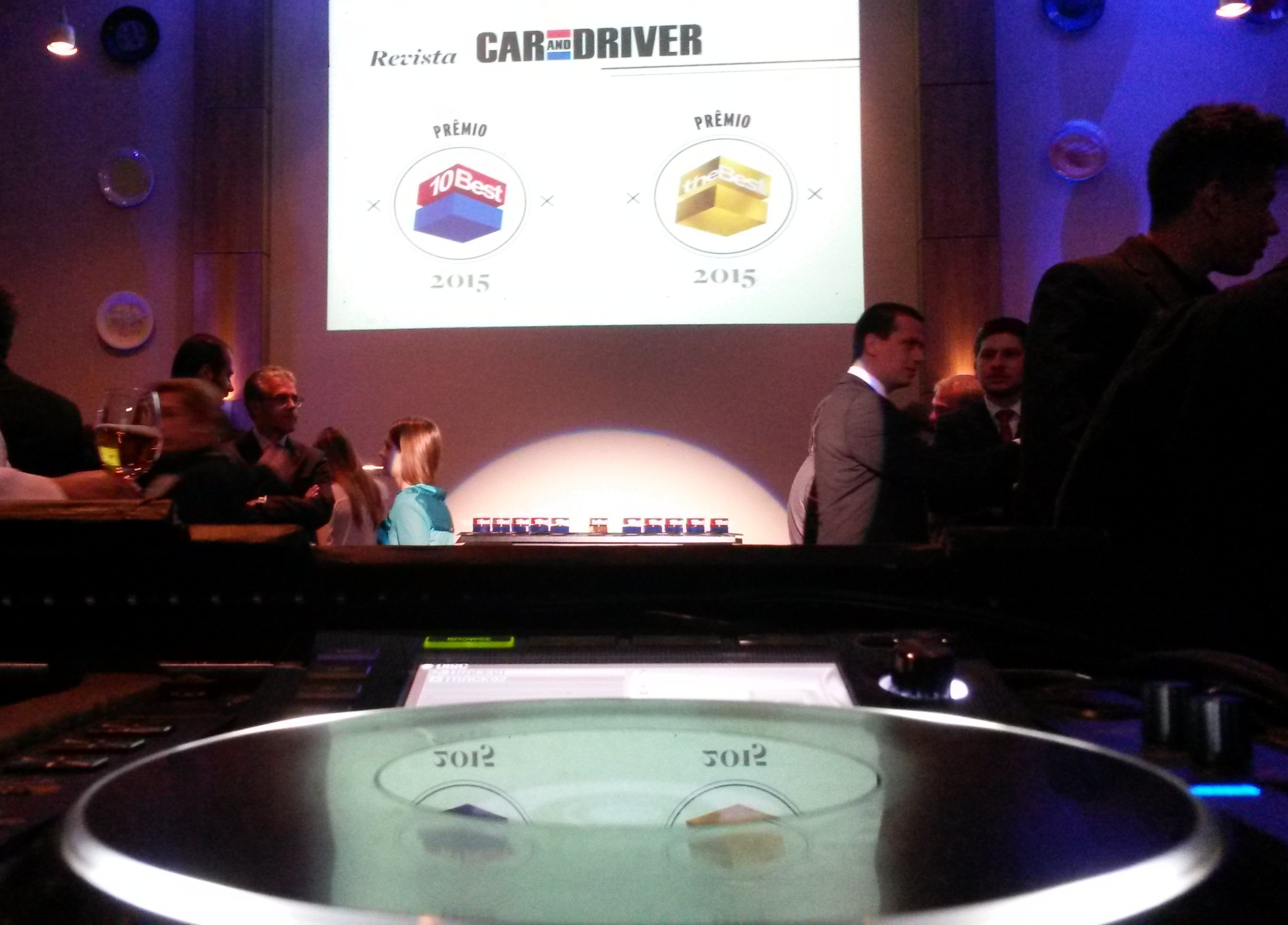Premiação CAR AND DRIVE