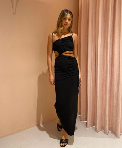 Bec & Bridge   Dilkon Black Gown