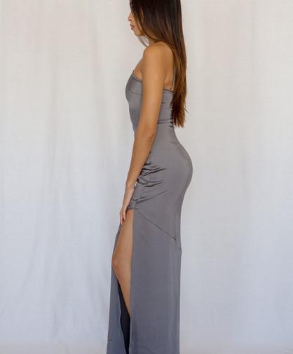 Jean Smoke Grey Gown