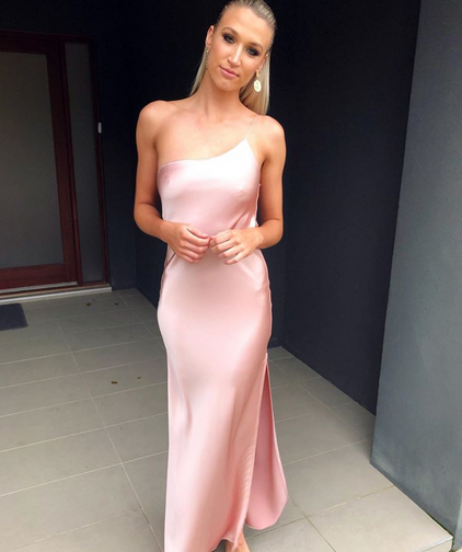 Valerie Pink Gown