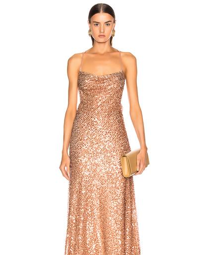 Paliette Whiteley Copper Gown