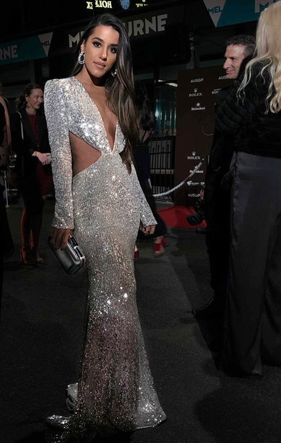 Nightingale Silver Gown