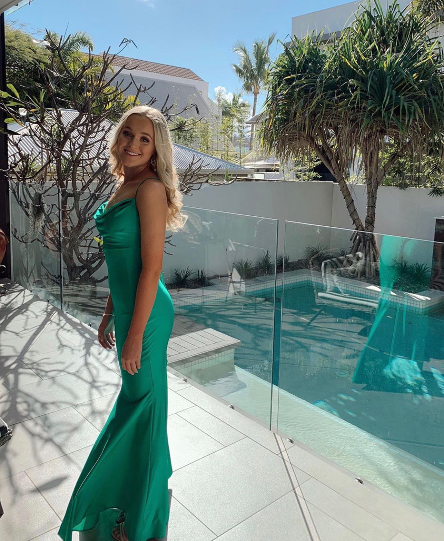 Arch Green Gown