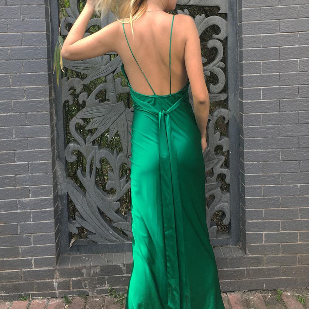 Clara Emerald Gown