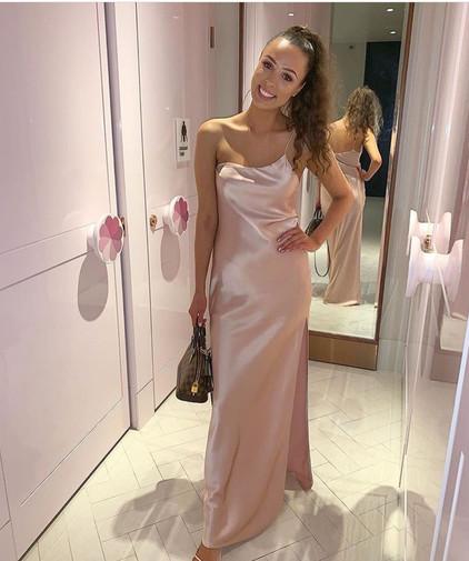 Natalie Rolt   Valerie Pink Gown