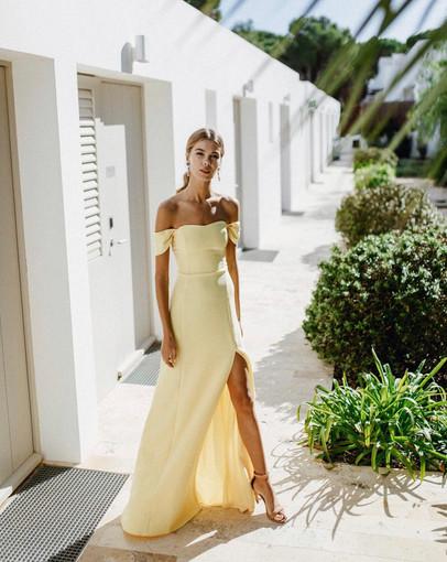 La Croix   Andrea Amarillo Gown