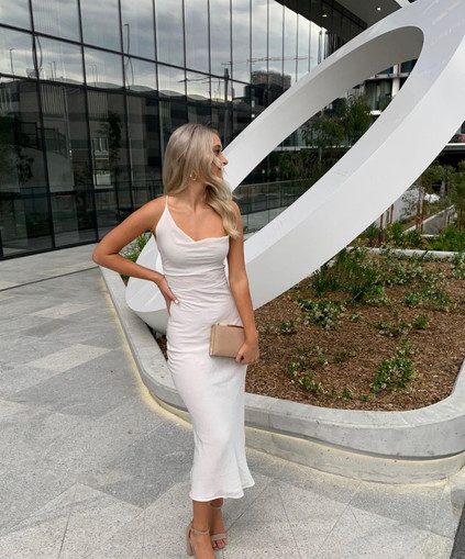 Jagger and Stone | Leigh White Gown
