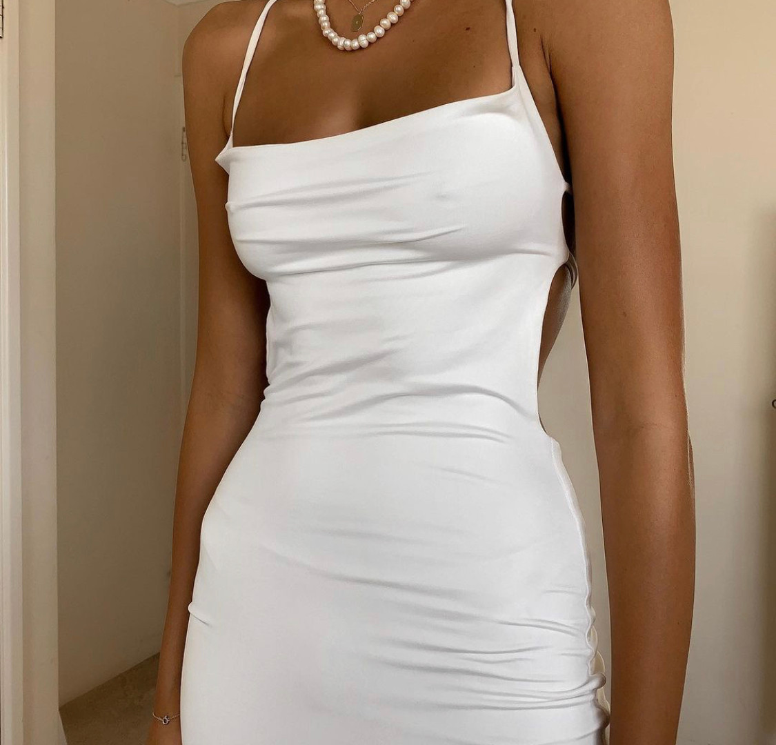 Palladium White Gown