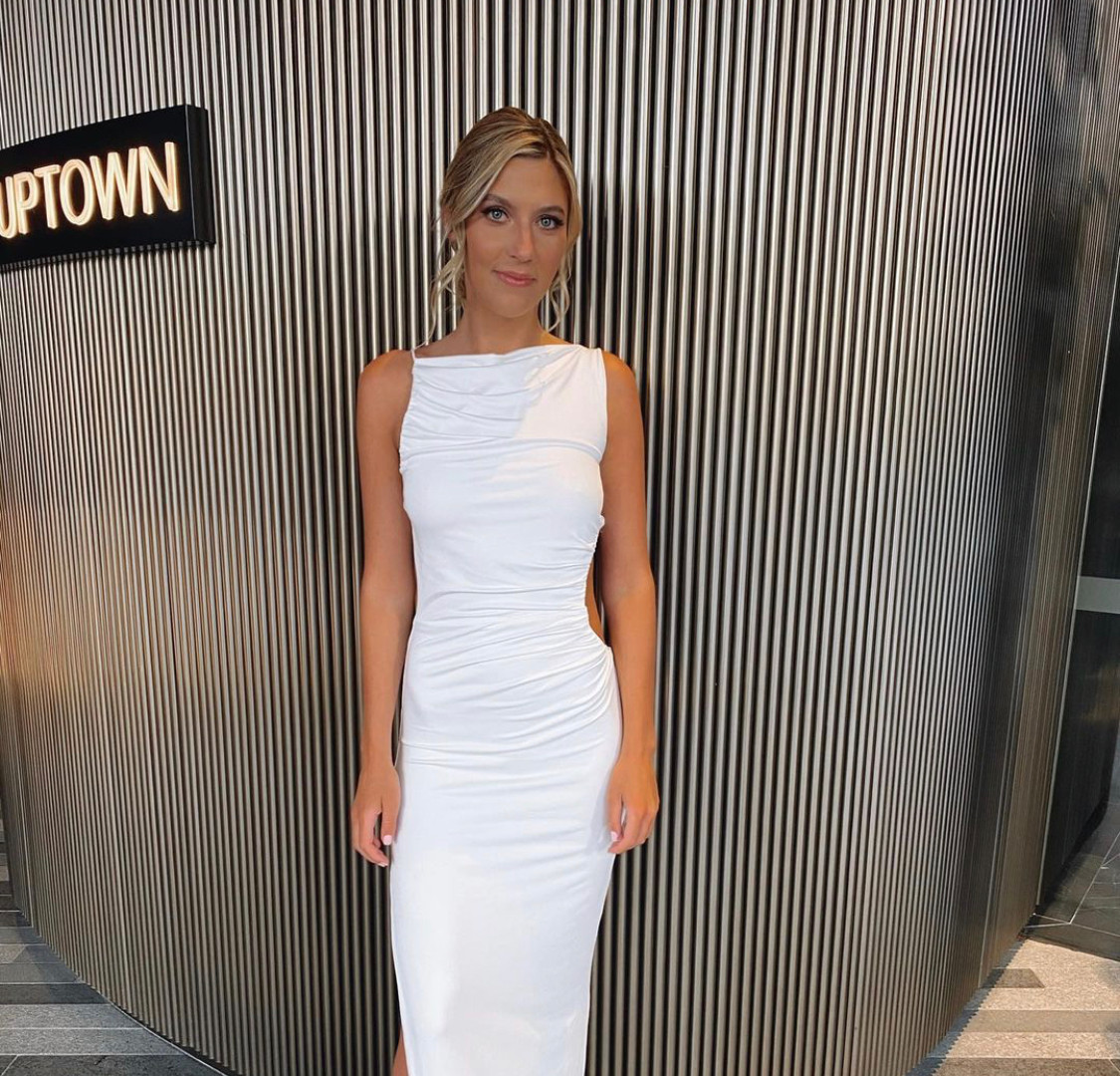 Rae White Gown
