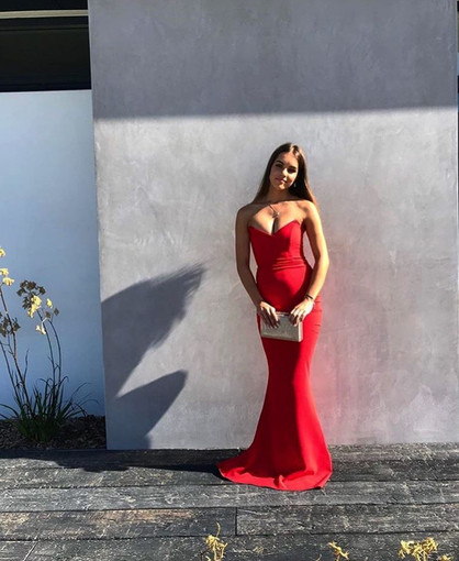 Nookie | Magic Cherry Red Gown