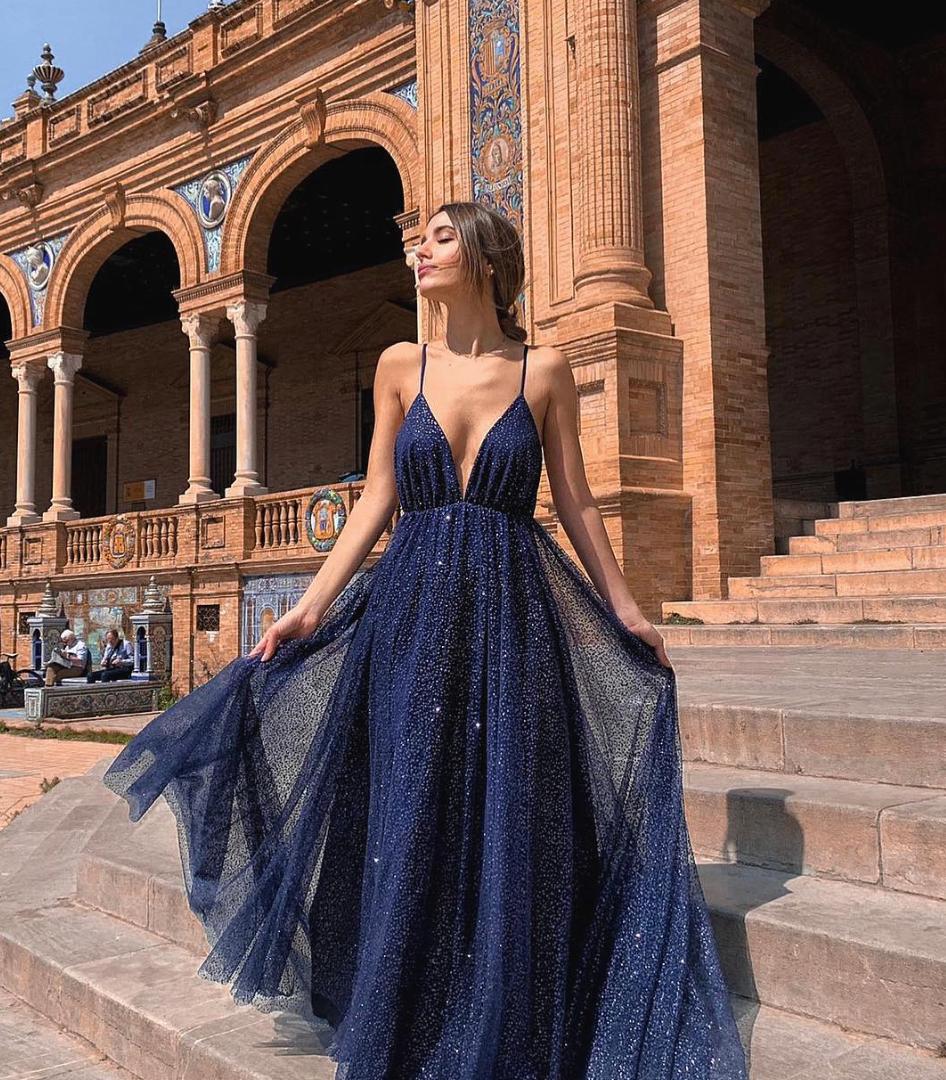 Agate Azul Gown