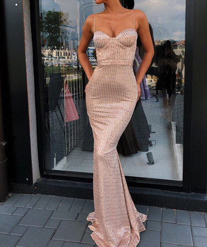 Eva Pearl Gown