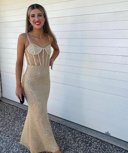 Elsa Peony Gown