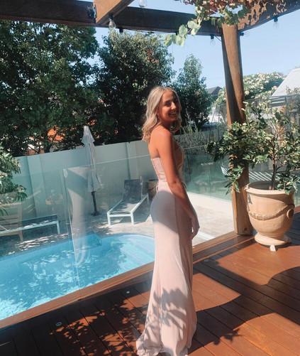 Natalie Rolt | Karmin Pink Gown