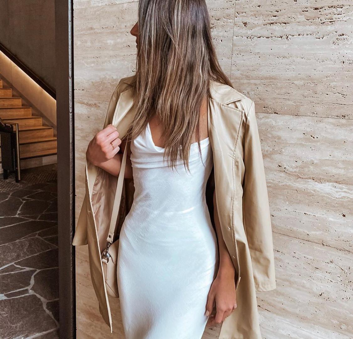 Leigh White Gown