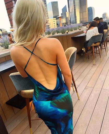 Rafinha Blue Gown