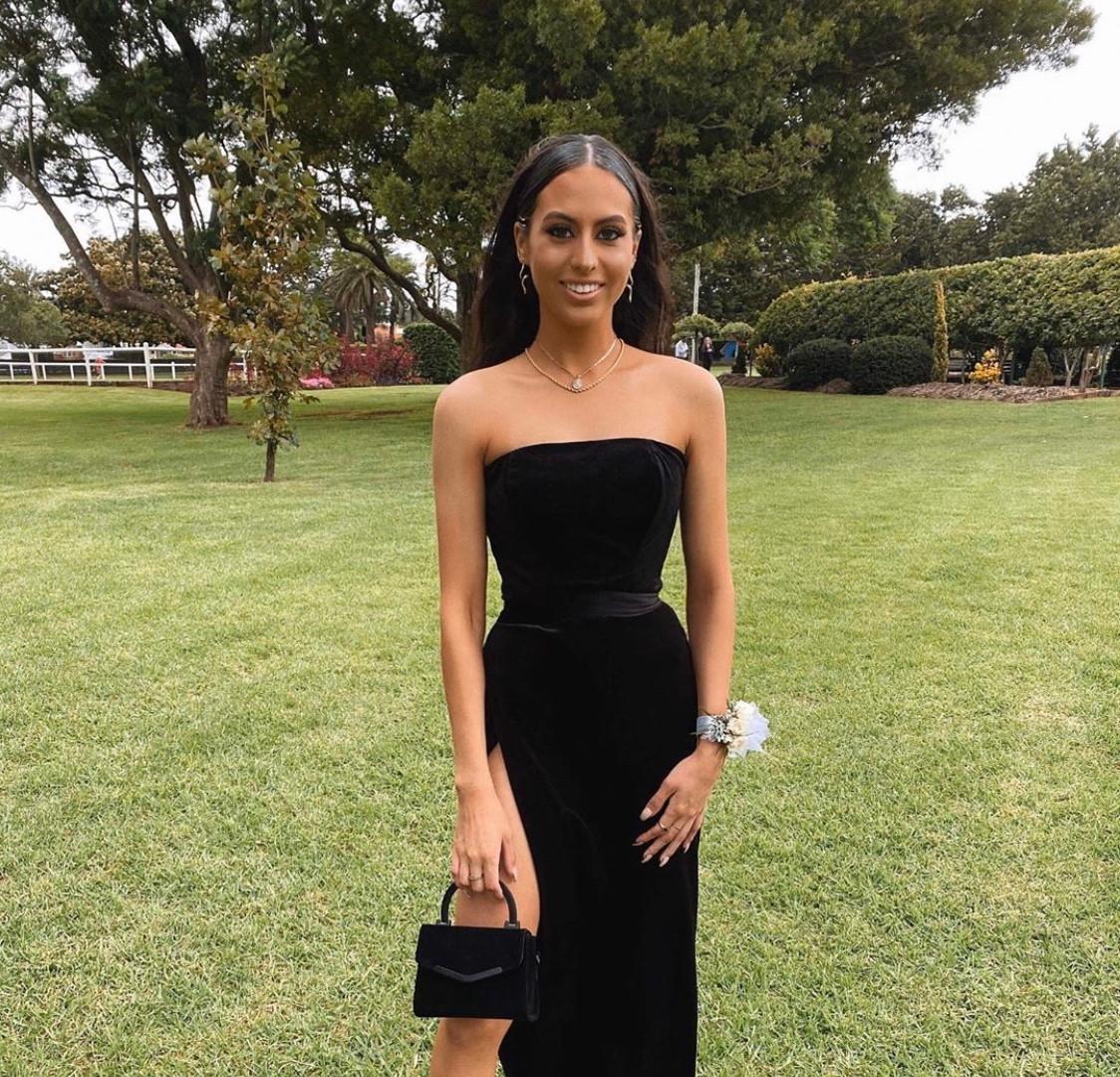 Alexis Black Gown