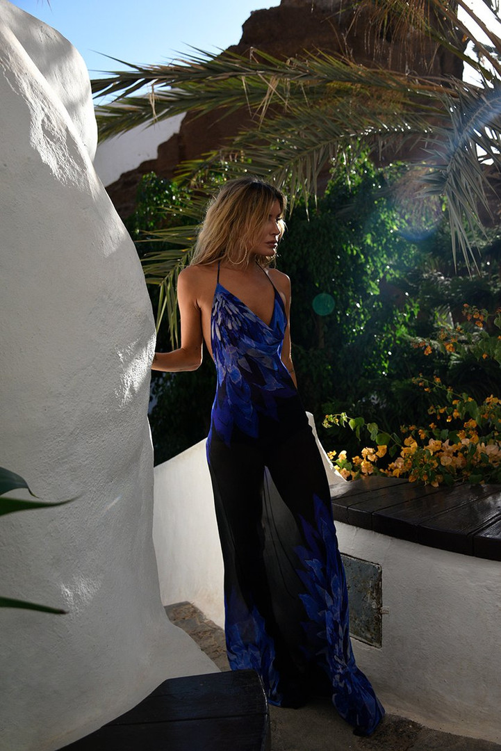 Coralina Blue Gown