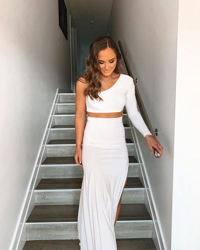 AYM Studio | Camila White Gown