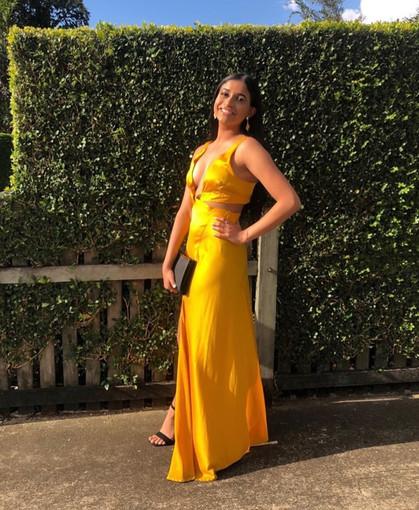 Bec & Bridge | Kiss Me Marigold Gown