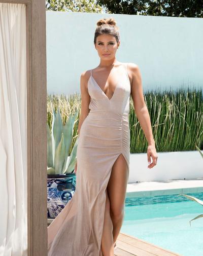 Anna Gold Gown