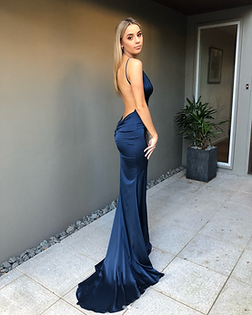 Unleashed Navy Gown.png