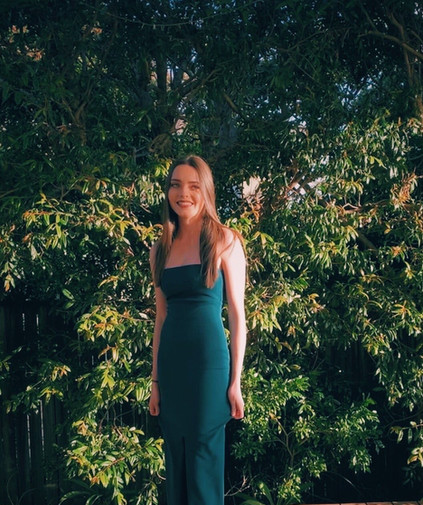 Boulevard Teal Gown