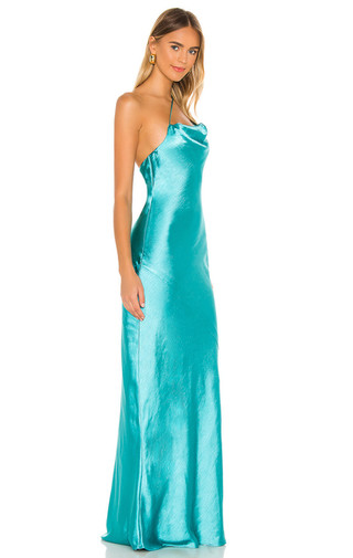 Luca Teal Blue Gown
