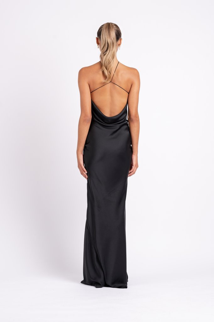 Cleo Black Gown