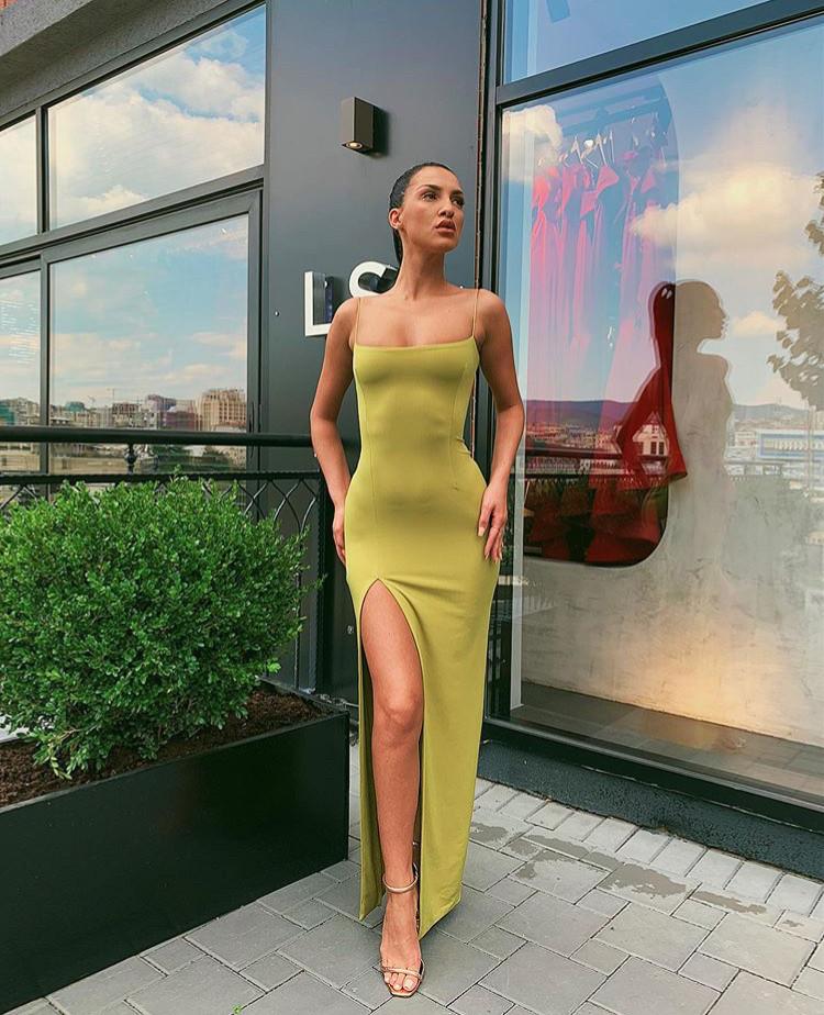 Johana Lime Gown