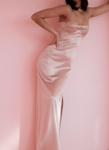 Solange Pink Gown