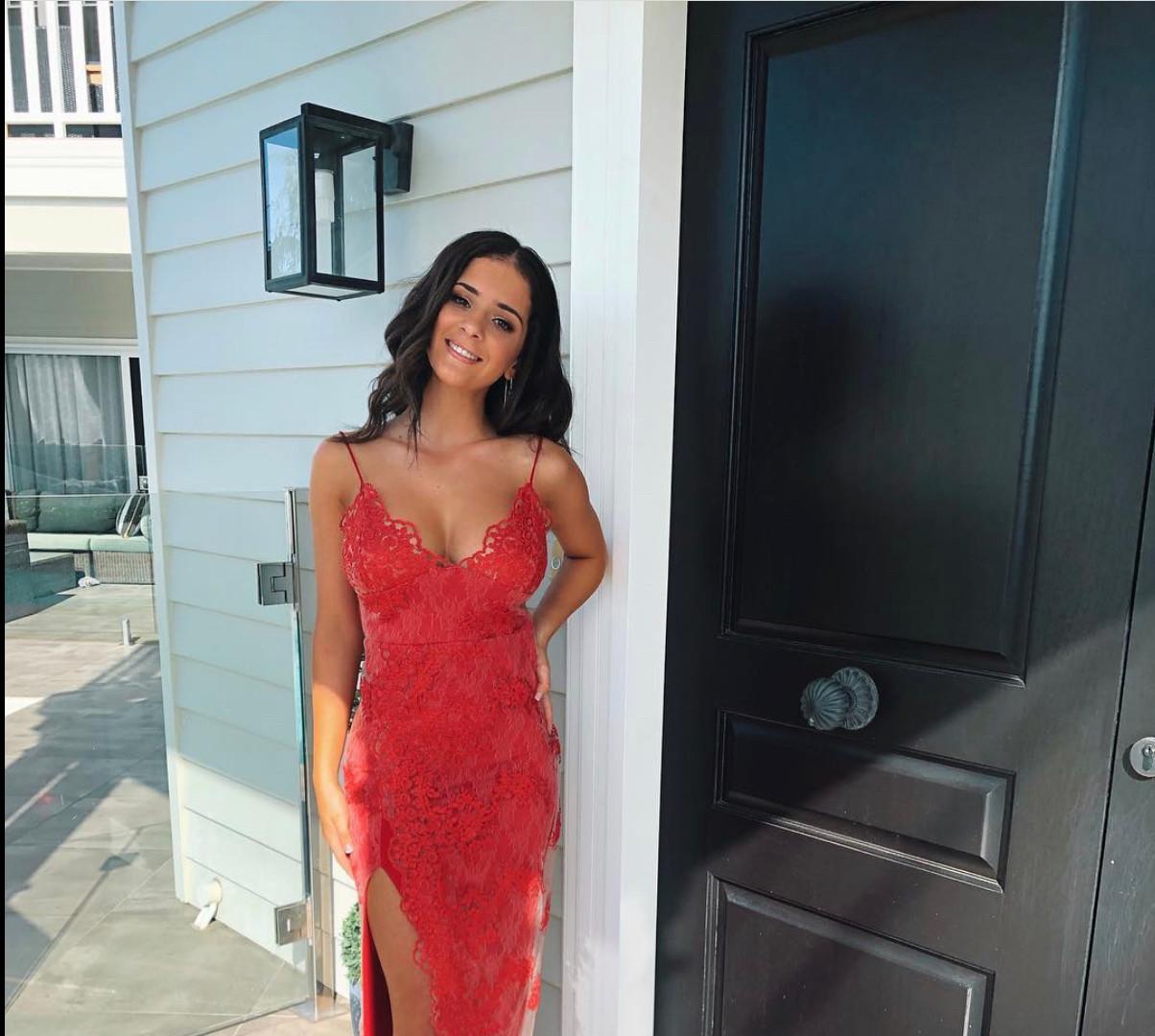 Motel Jay Scarlett Gown