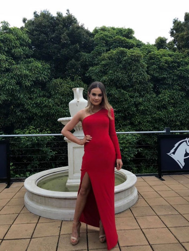 Effie Kats   Yvonne Red Gown
