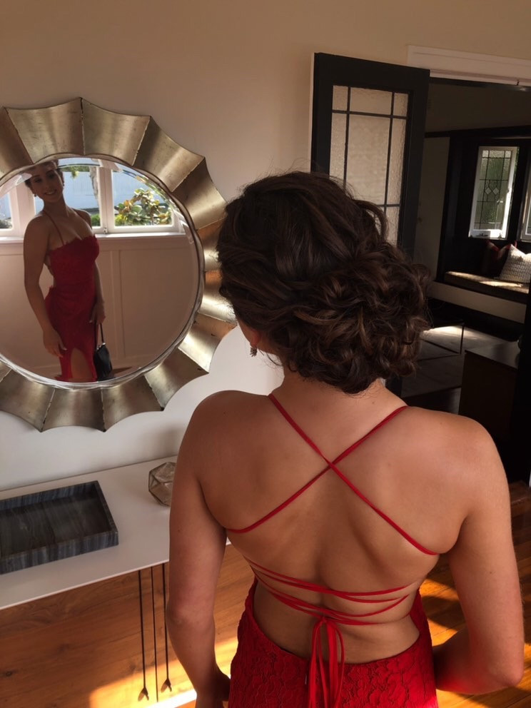 Tavi Red Gown