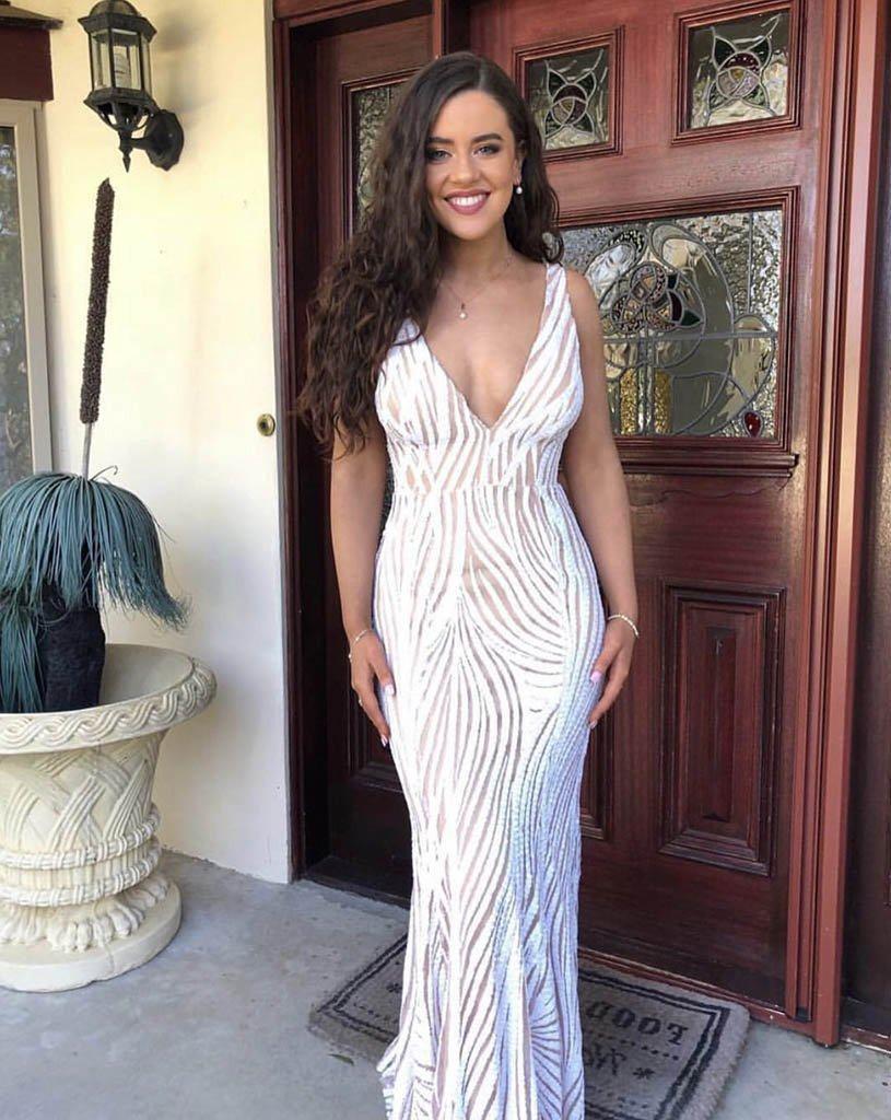 Sapphira White Gown